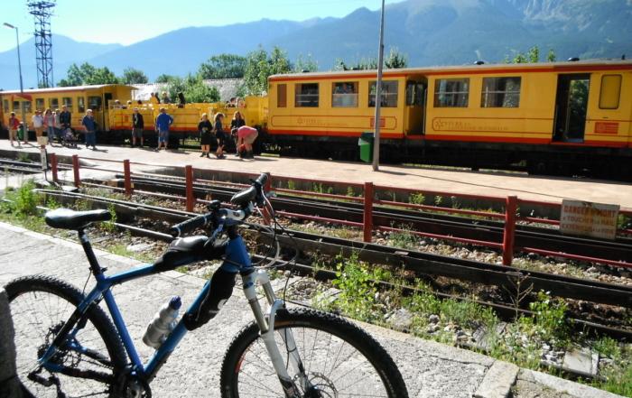 Descente du train jaune + stations des Pyrénées