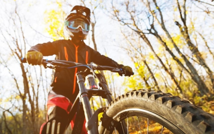 Rouler sur le Bike Park du Mont Ventoux