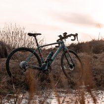 un vélo gravel bike